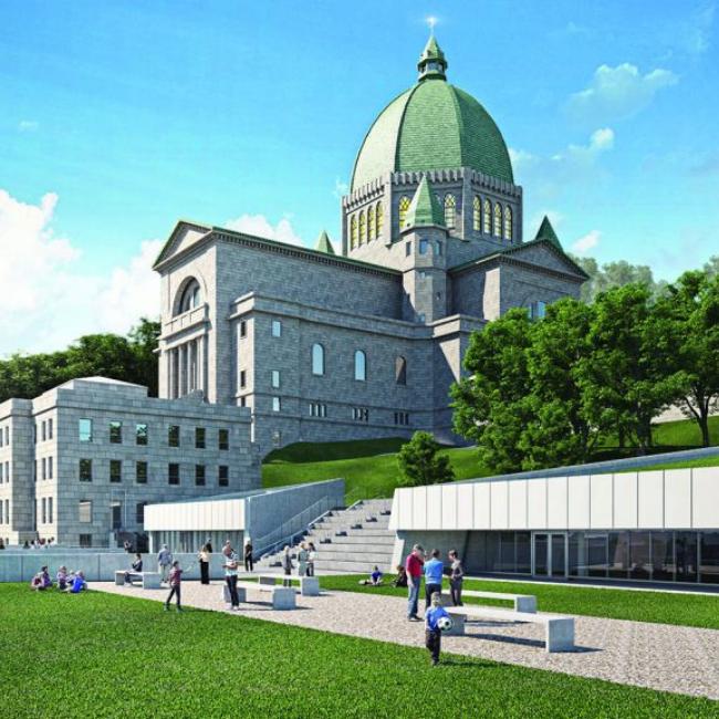 Projet d'aménagement de l'Oratoire Saint-Joseph du Mont-Royal