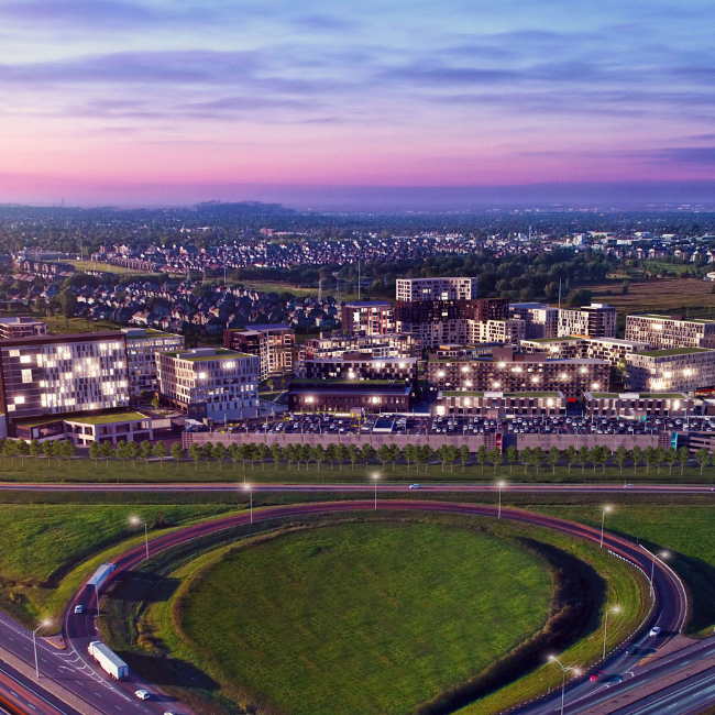 Solar Uniquartier | Bâtiment B1-C1 (Brossard)